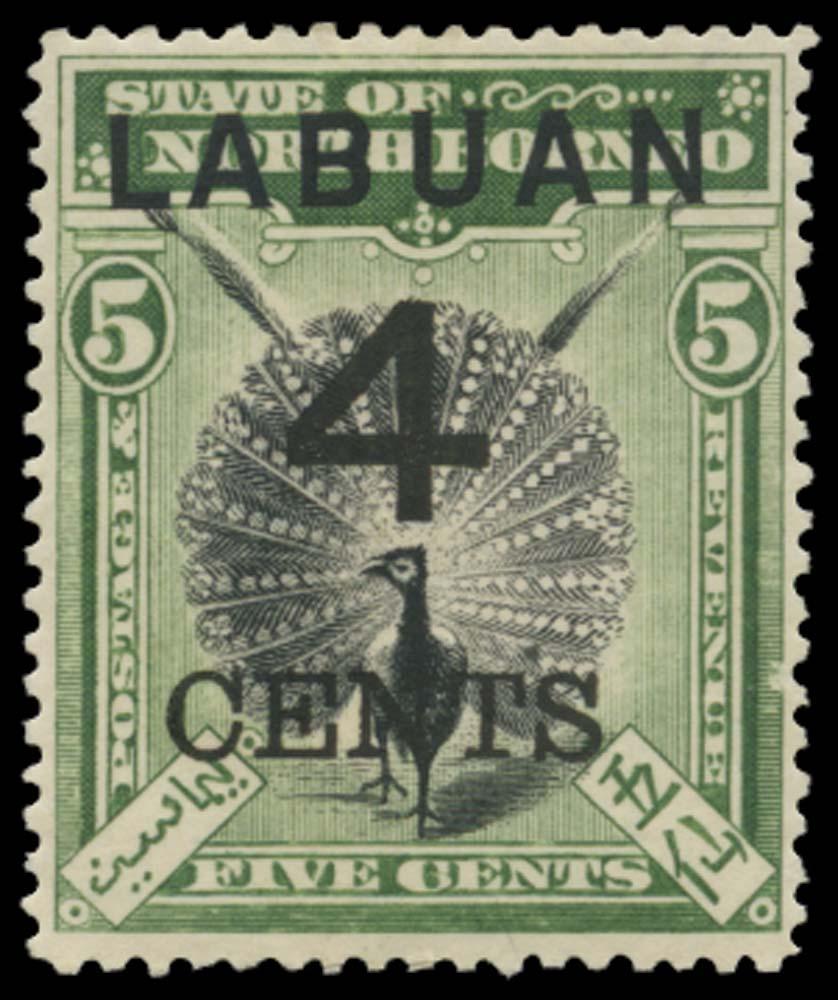LABUAN 1899  SG102 Mint