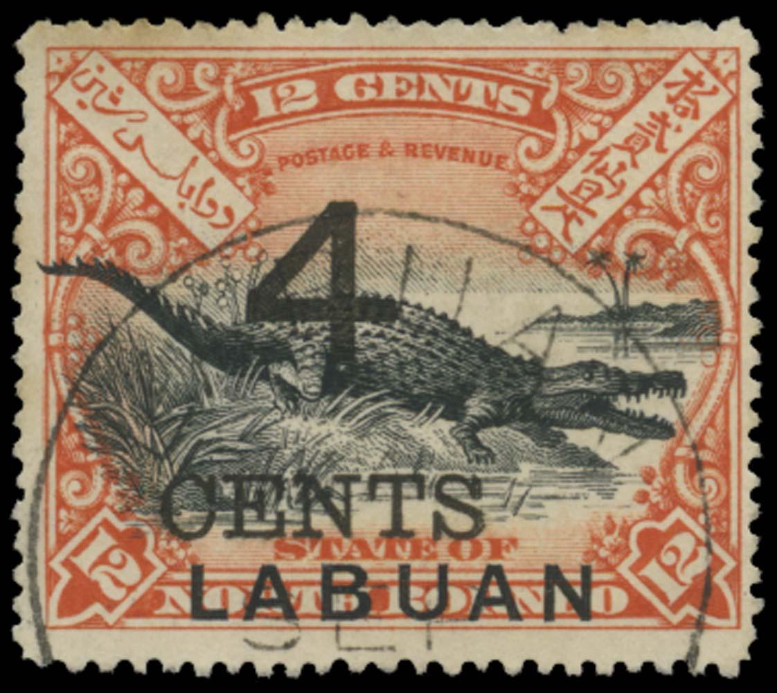 LABUAN 1899  SG105b Used