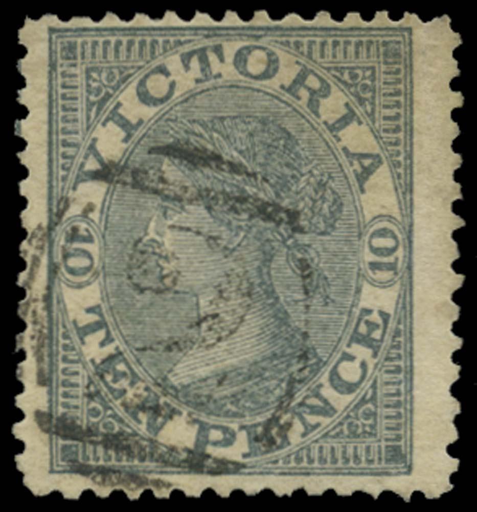 VICTORIA (AUS) 1863  SG119 Used