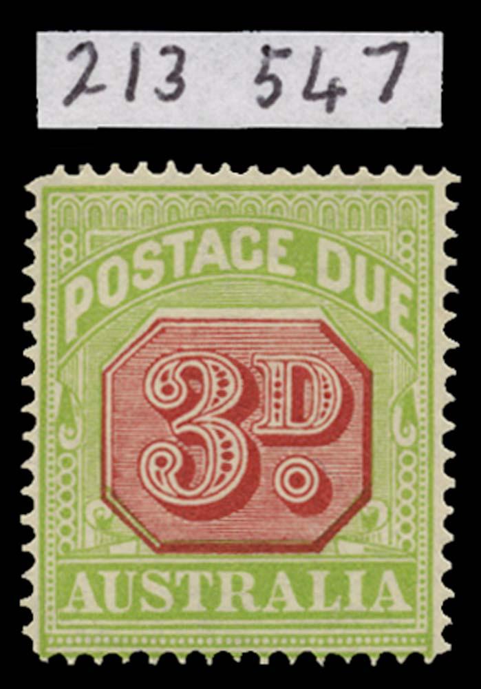 AUSTRALIA 1913  SGD82a Postage Due