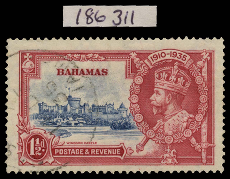 BAHAMAS 1935  SG141h Used
