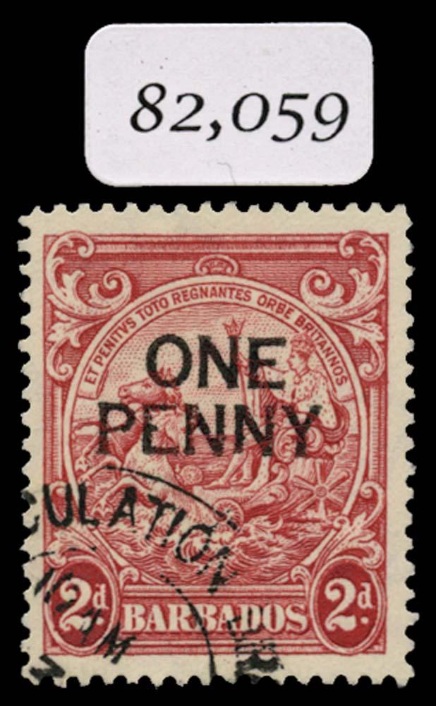 BARBADOS 1947  SG264ed Used