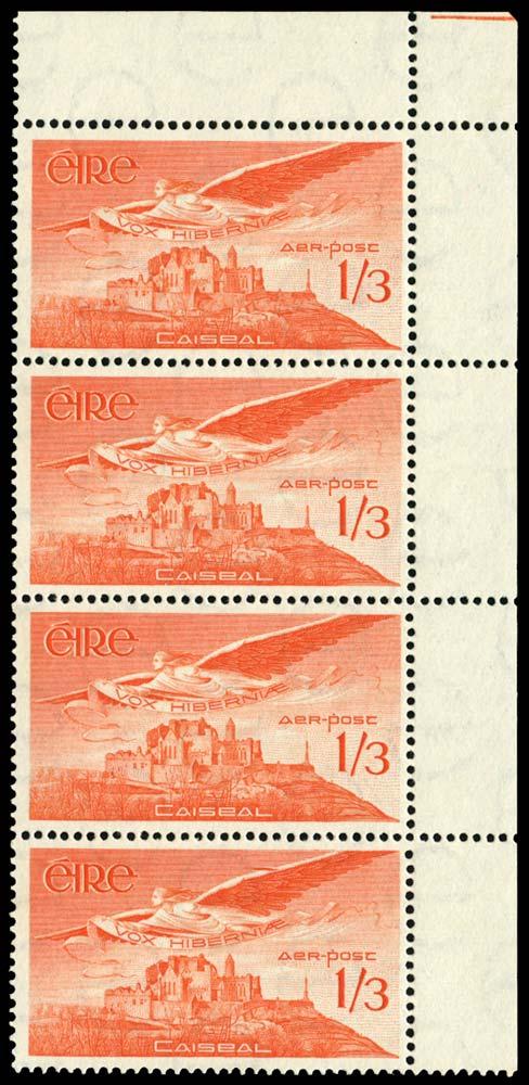 IRELAND 1948  SG143ab Mint 1s3d Extra feather