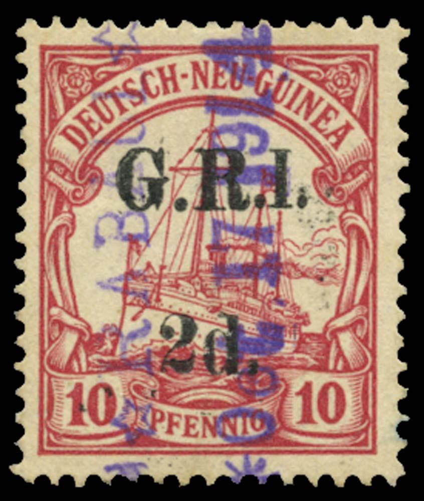 NEW GUINEA 1914  SG3a Used