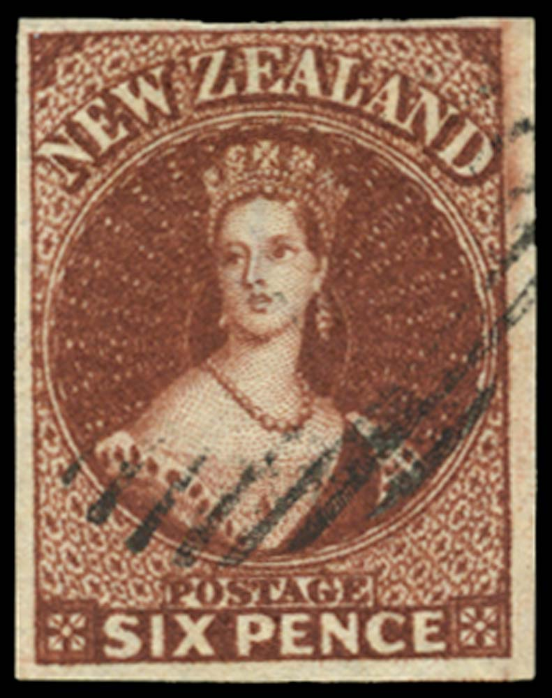 NEW ZEALAND 1864  SG99 Used