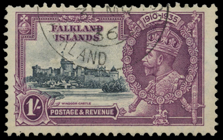 FALKLAND ISLANDS 1935  SG142b Used