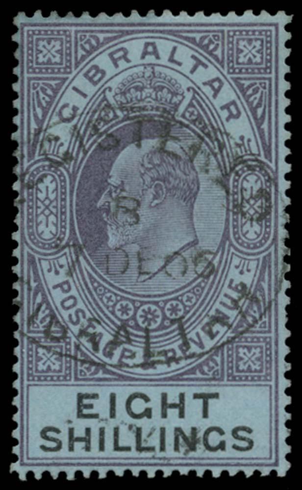 GIBRALTAR 1903  SG54 Used
