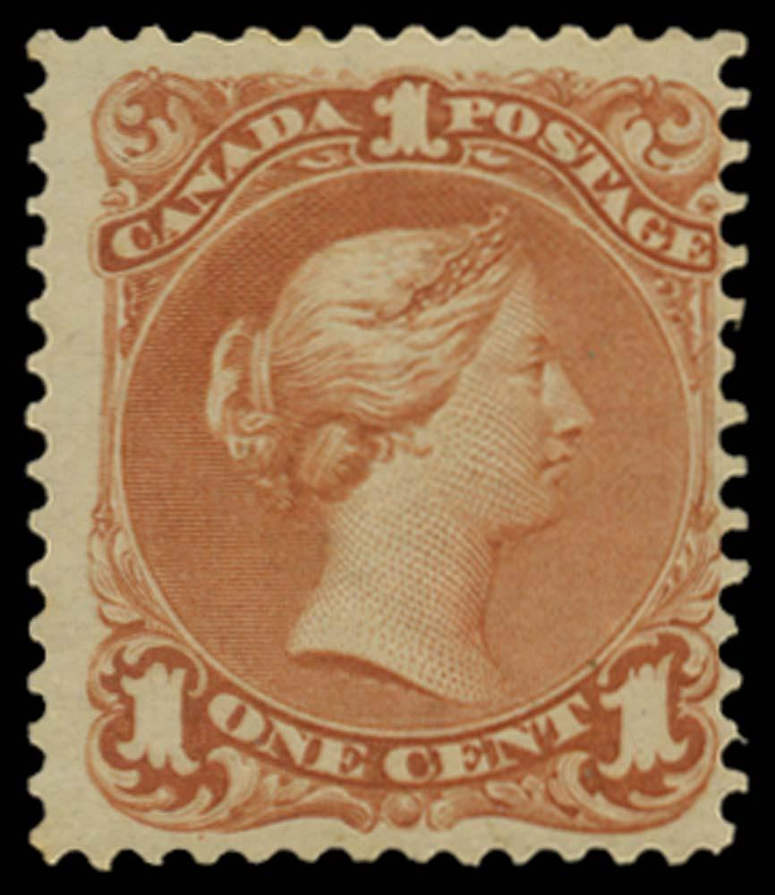 CANADA 1868  SG55 Mint