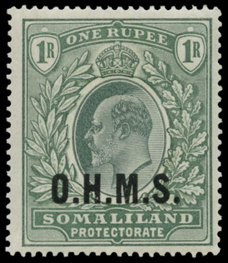 SOMALILAND PROTECT 1904  SGO15 Official