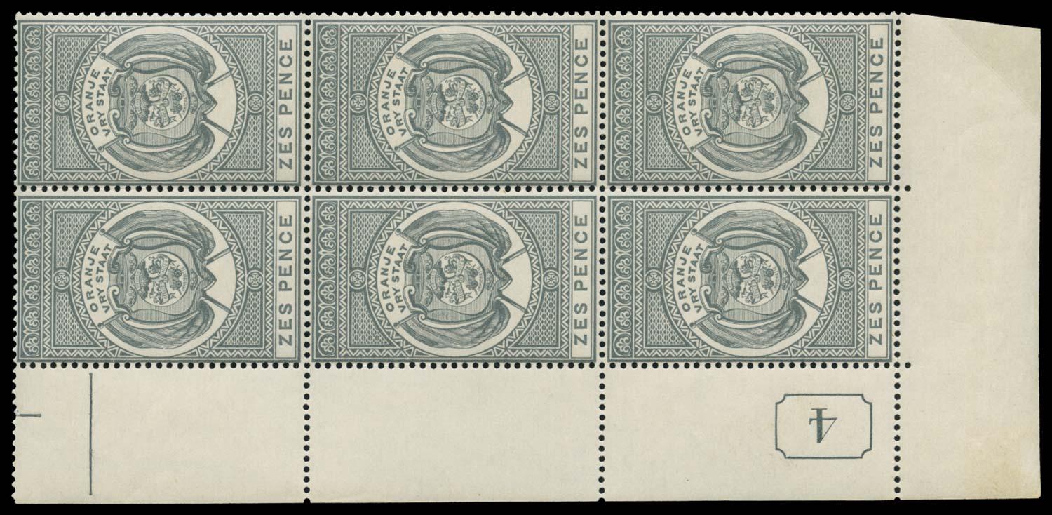 ORANGE FREE STATE 1882  SGF1 Postal Fiscal