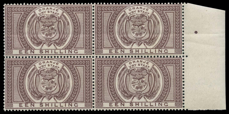 ORANGE FREE STATE 1882  SGF3 Postal Fiscal