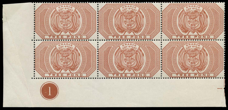 ORANGE FREE STATE 1882  SGF14 Postal Fiscal