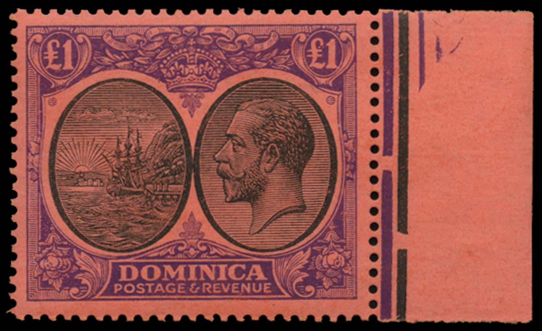 DOMINICA 1923  SG91 Mint