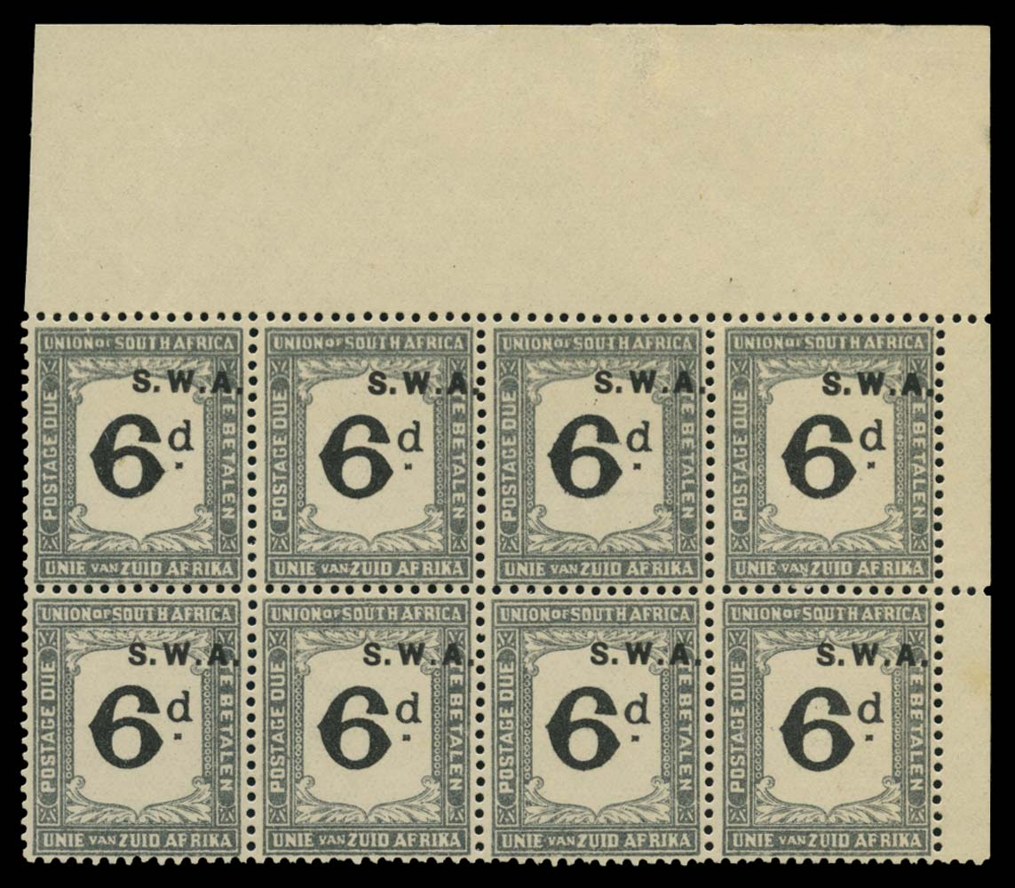 SOUTH WEST AFRICA 1928  SGD41 Postage Due