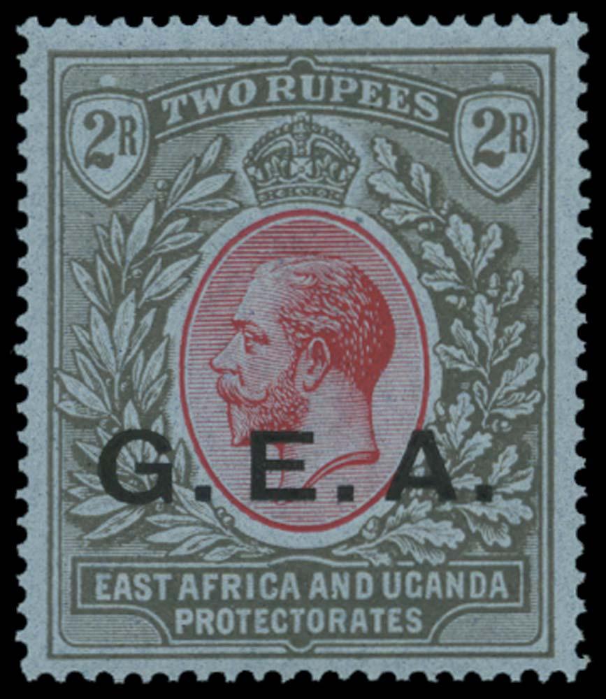 TANGANYIKA 1921  SG66 Mint