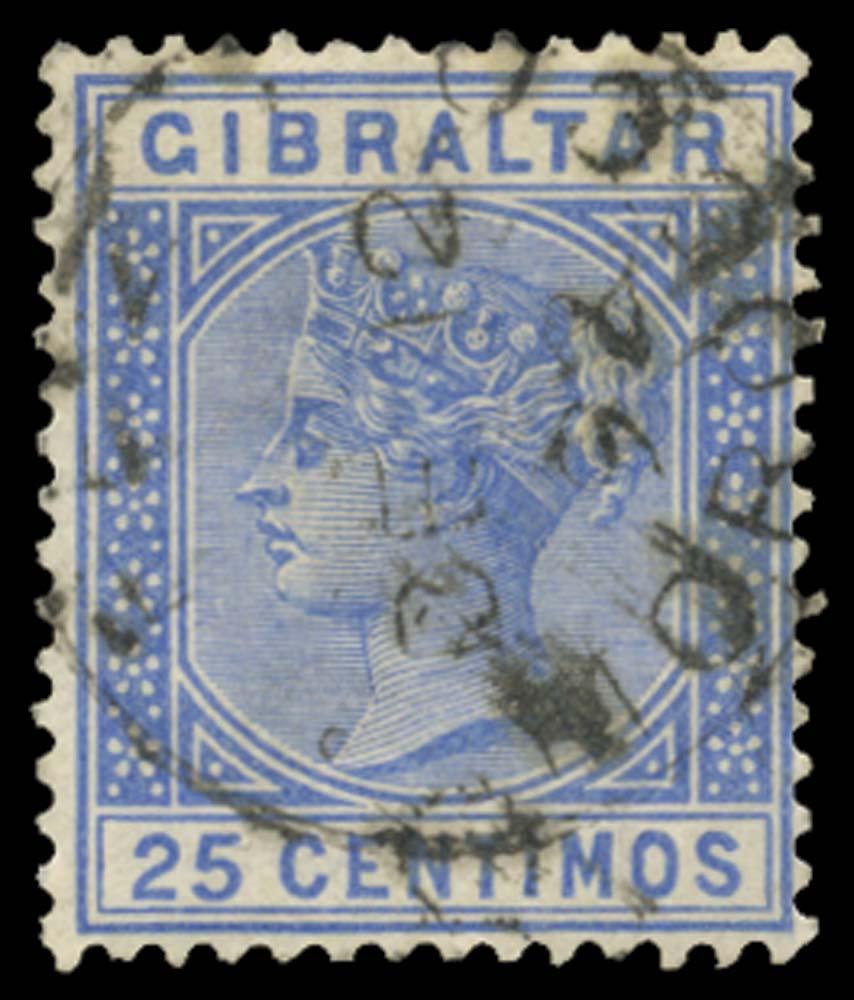 MOROCCO AGENCIES 1889  SGZ35 Cancel