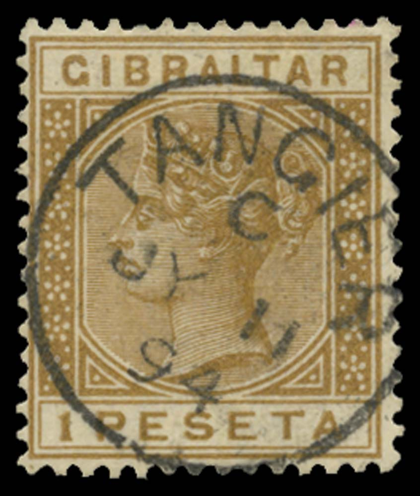 MOROCCO AGENCIES 1889  SGZ149 Cancel