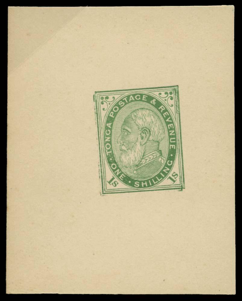 TONGA 1886  SG4 Proof