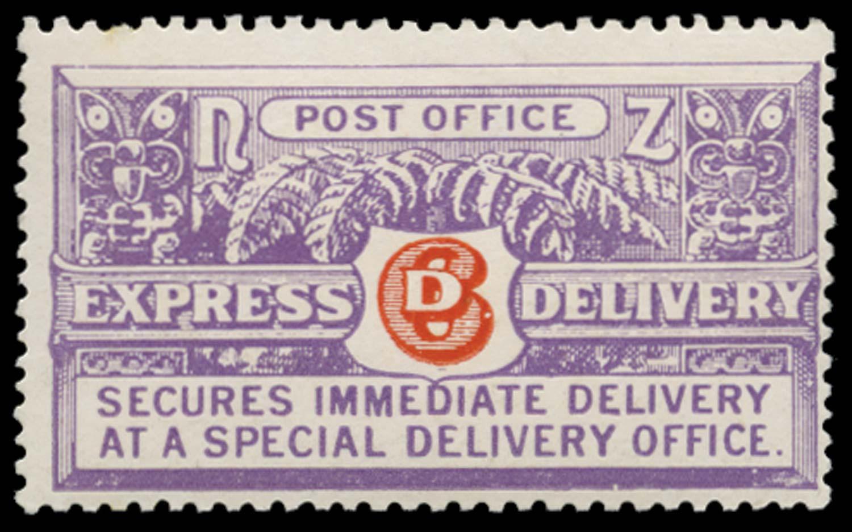NEW ZEALAND 1926  SGE2 Mint 6d Express Cowan paper perf 14x14½ unmounted