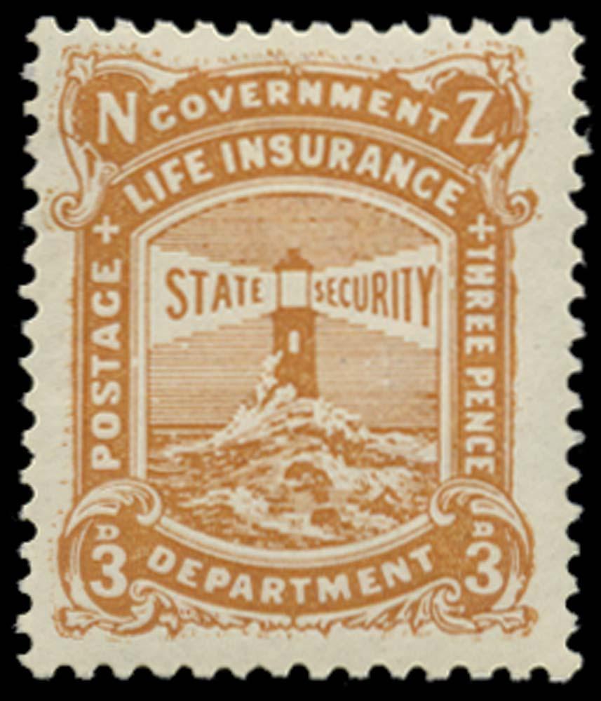 NEW ZEALAND 1913  SGL30 Mint