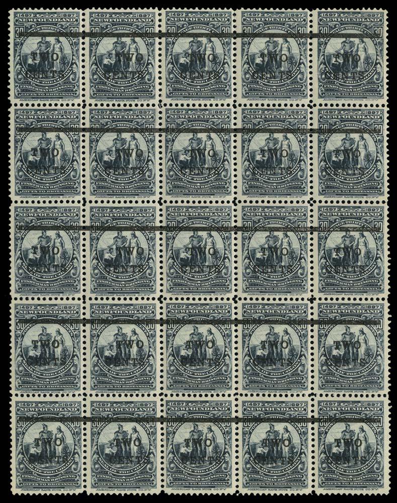 NEWFOUNDLAND 1920  SG144 Mint