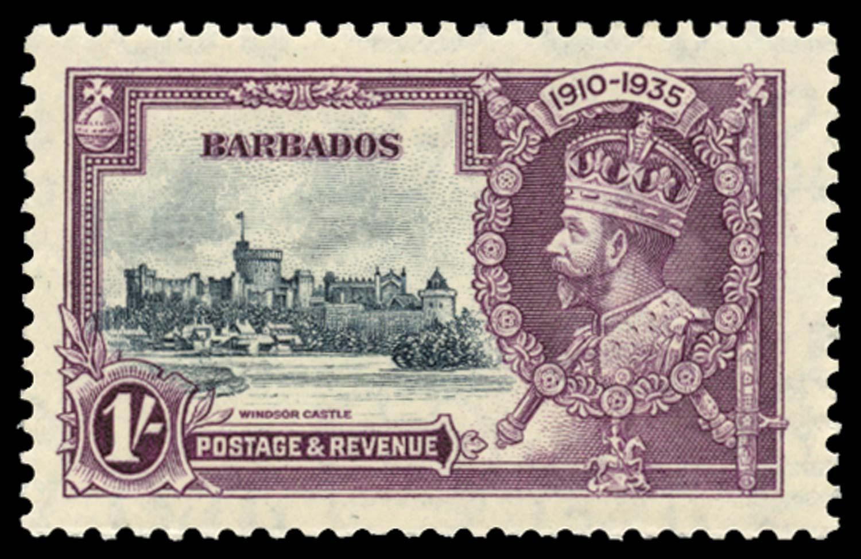BARBADOS 1935  SG244l Mint
