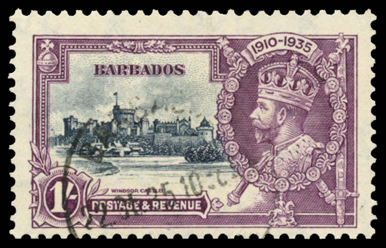 BARBADOS 1935  SG244l Used