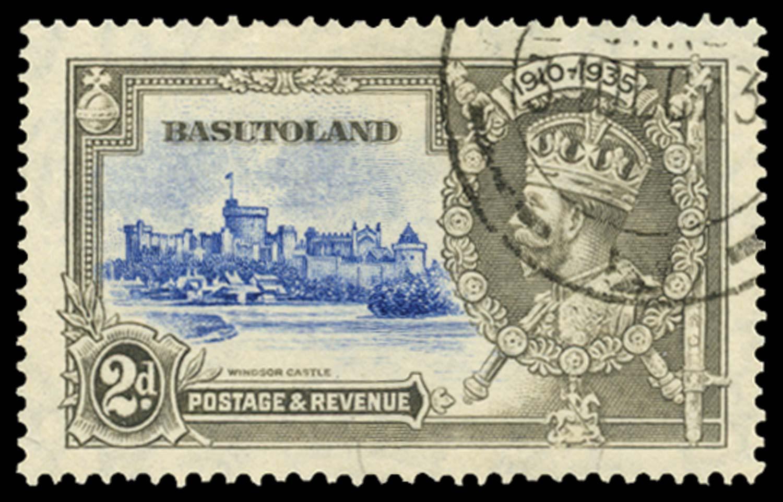 BASUTOLAND 1935  SG12f Used