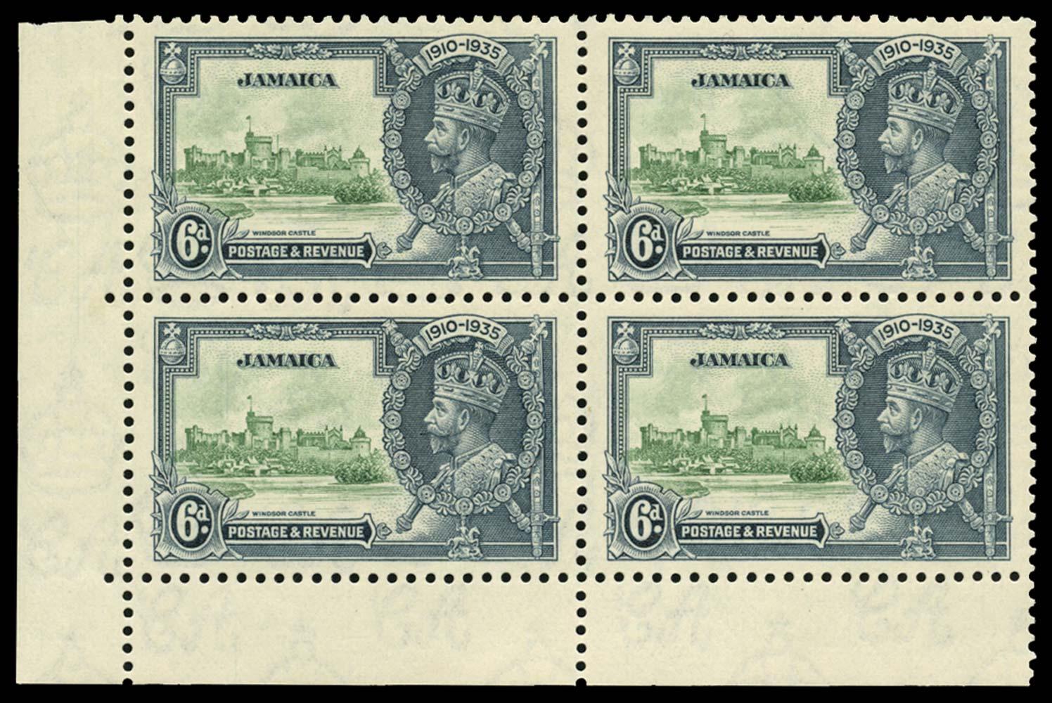 JAMAICA 1935  SG116/a Mint