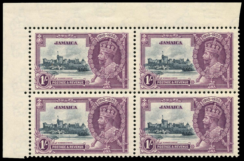 JAMAICA 1935  SG117/b Mint