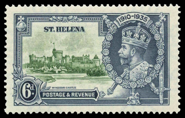 ST HELENA 1935  SG126h Mint