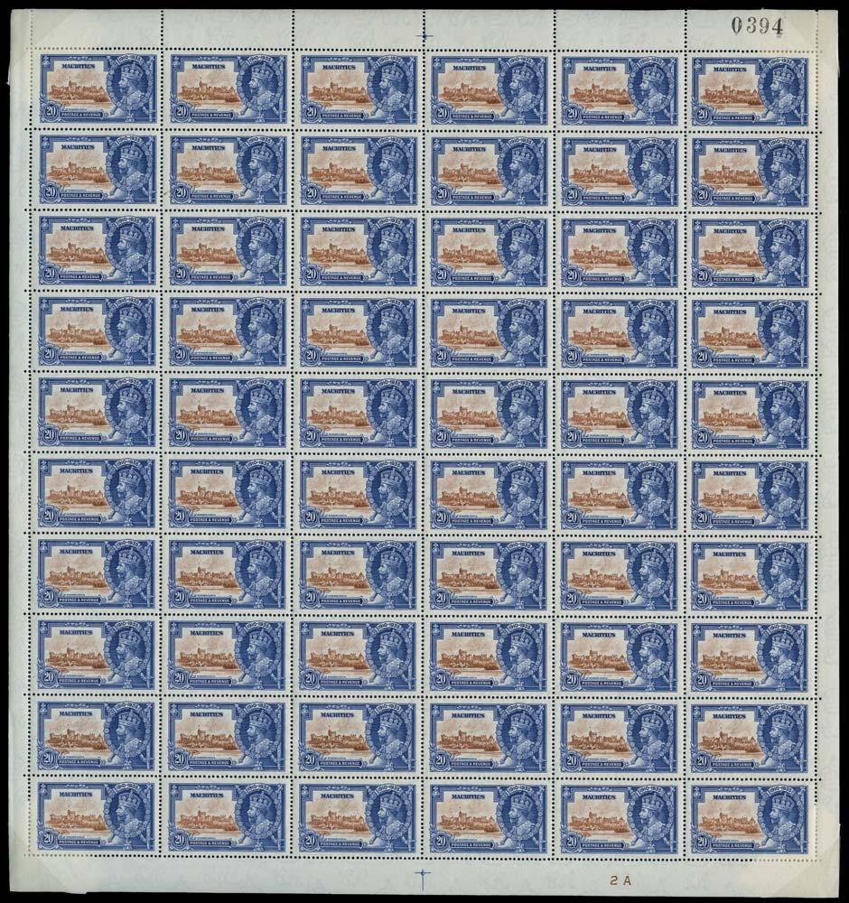 MAURITIUS 1935  SG247/f Mint