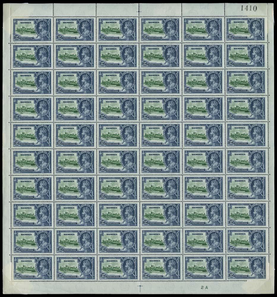 MAURITIUS 1935  SG246/f Mint