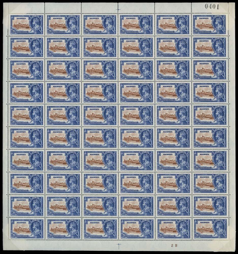 MAURITIUS 1935  SG247/g Mint