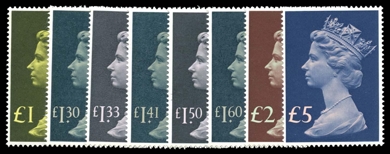 GB 1977  SG1026/8 Mint
