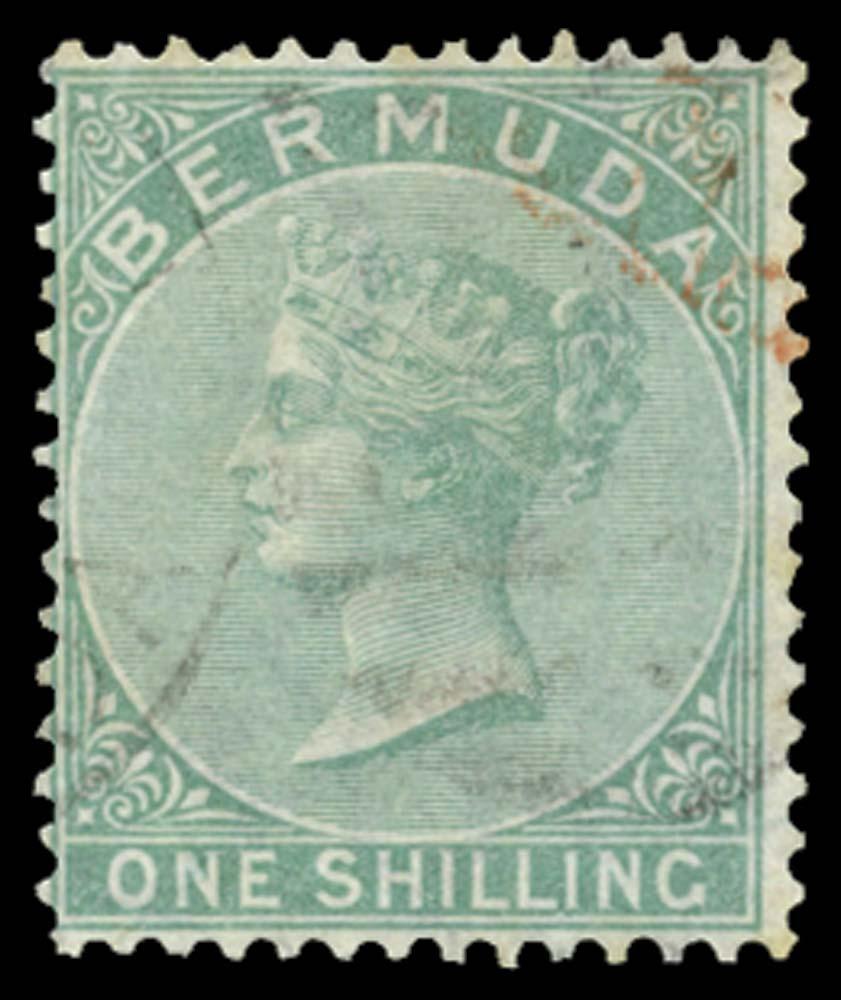 BERMUDA 1865  SG8w Used