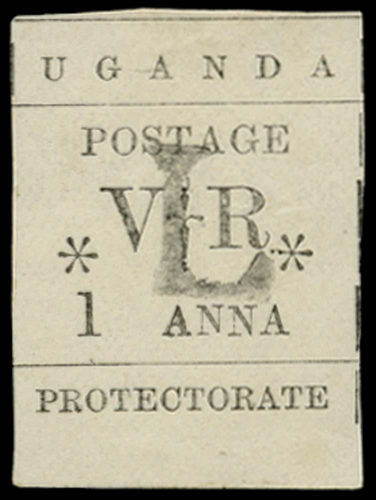 UGANDA 1896  SG70 Mint