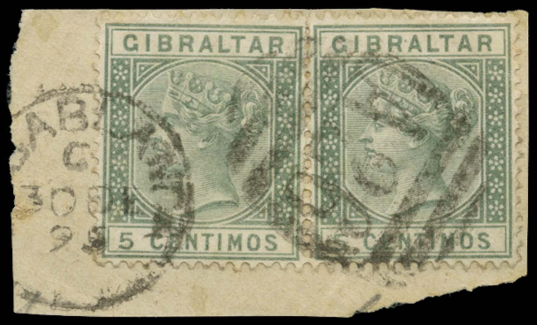 MOROCCO AGENCIES 1895  SGZ18 Cancel