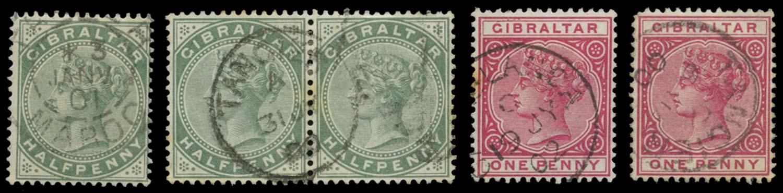 MOROCCO AGENCIES 1898  SG. Cancel