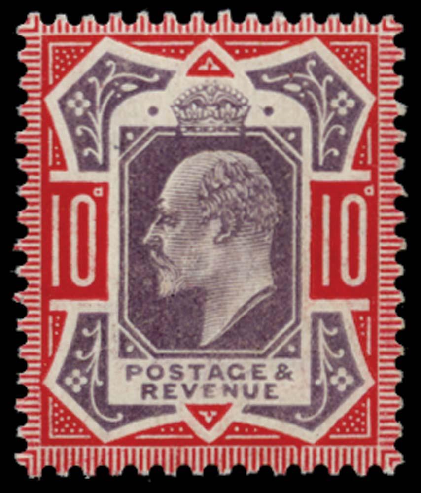 GB 1910  SG256 Mint