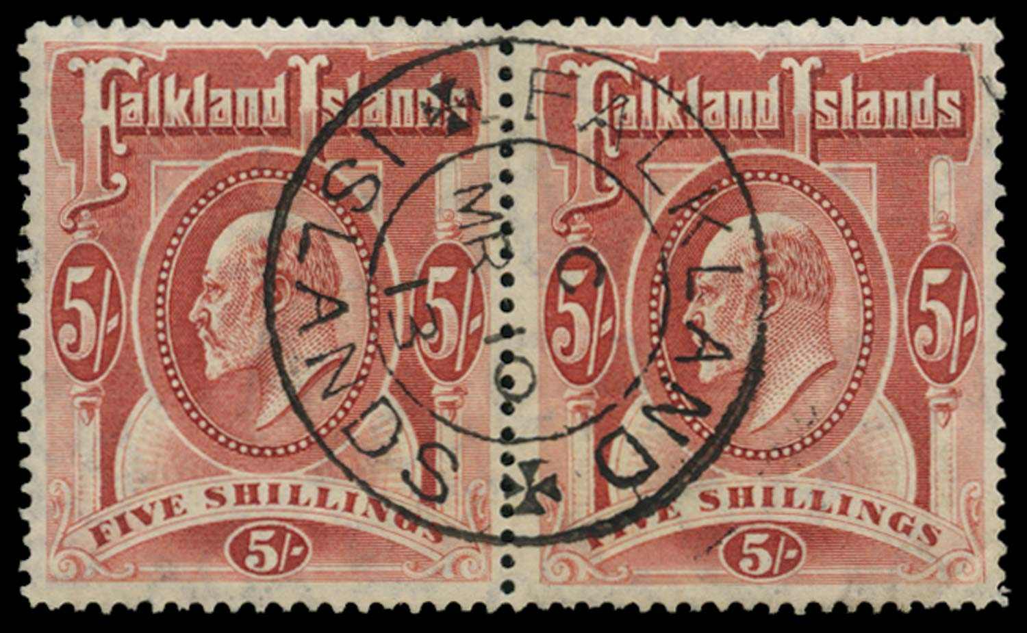 FALKLAND ISLANDS 1904  SG50 Used