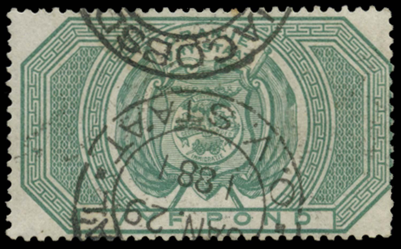 ORANGE FREE STATE 1882  SGF15 Postal Fiscal