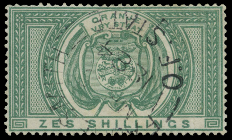 ORANGE FREE STATE 1882  SGF10 Postal Fiscal