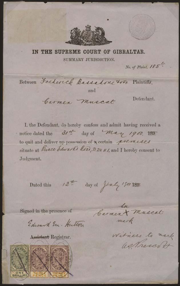 GIBRALTAR 1900 Revenue