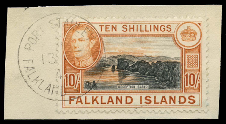 FALKLAND ISLANDS 1938  SG162a Used