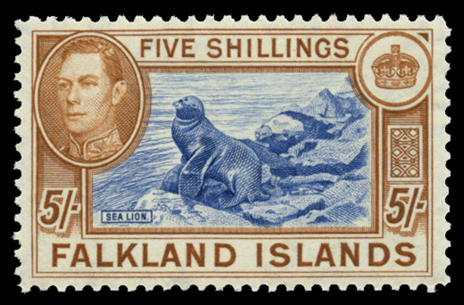 FALKLAND ISLANDS 1938  SG161d Mint