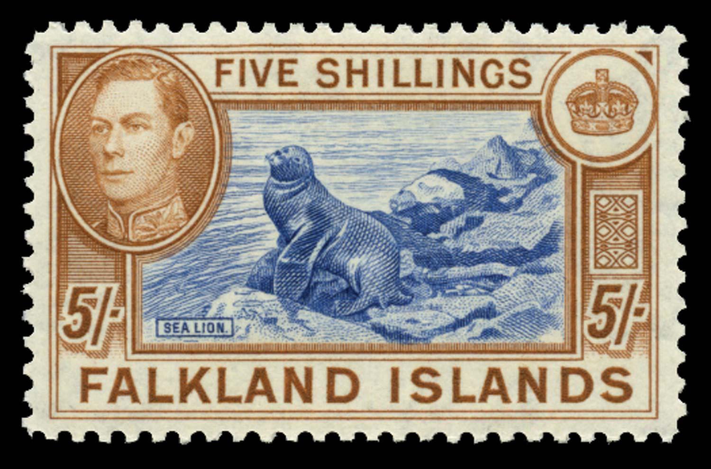FALKLAND ISLANDS 1938  SG161d Mint
