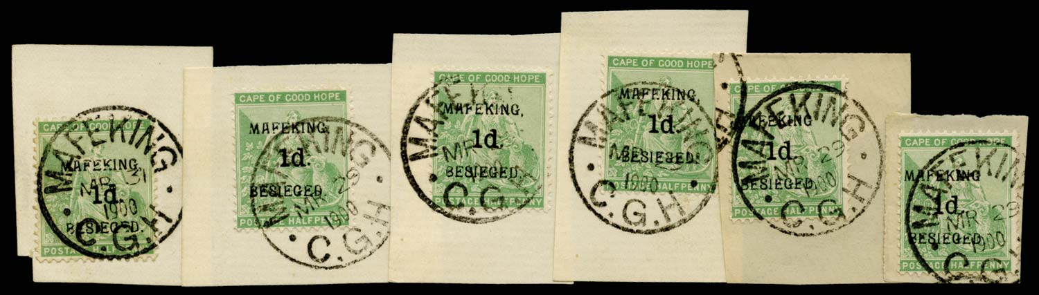 C.G.H. - MAFEKING 1900  SG1 Used