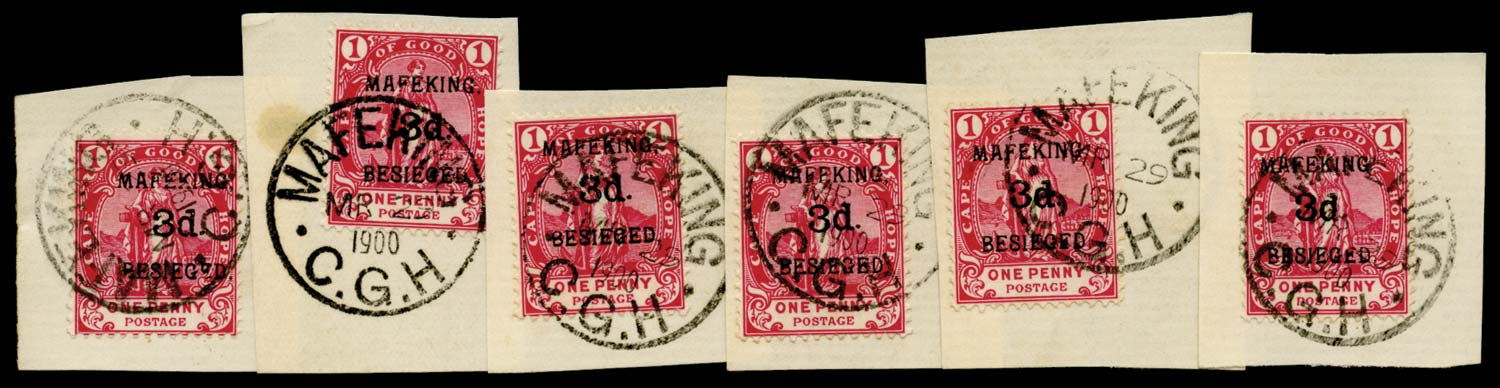C.G.H. - MAFEKING 1900  SG3 Used
