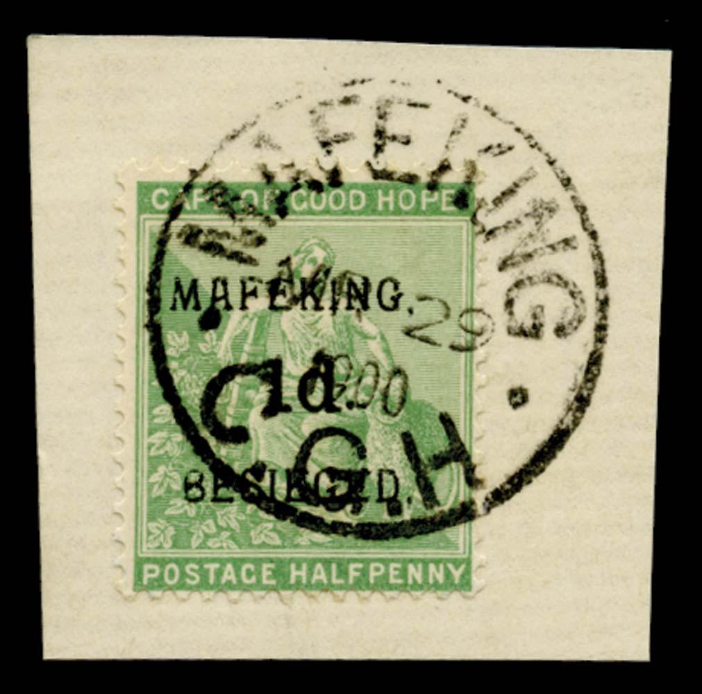 C.G.H. - MAFEKING 1900  SG1 Used